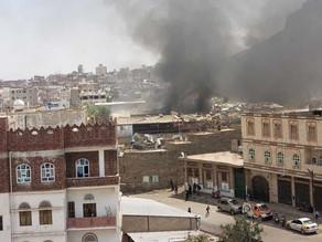 غارات وحشية يشنها تحالف الإخوان على صنعاء