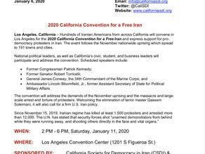 مؤتمر للجالية الإيرانية في كاليفورنيا