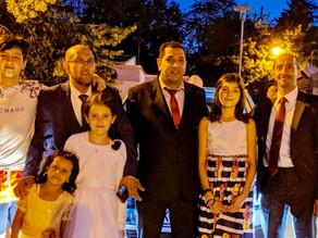 زفاف عبدالحكيم الحرازي في ألمانيا