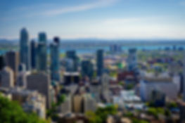 Mount Royal view of Montreal Canada Travel