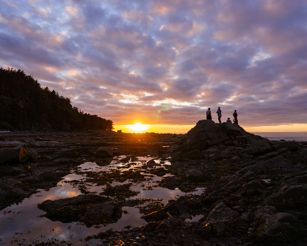 Real Adventure Canada Tourism Loves Sea Shack Sunsets when Visiting Canada