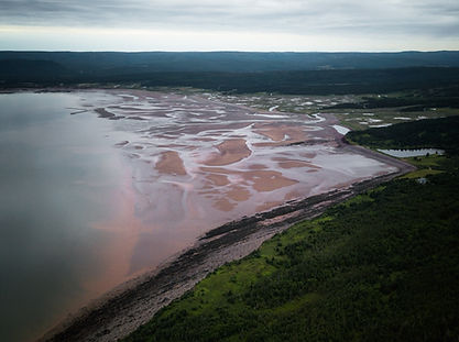 Bay of Fundy Hike Scenic Landscape View Adventure Travel Canada New Brunswick