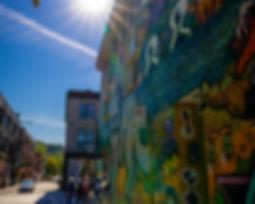 Urban Photography of Montreal near Saint Laurent