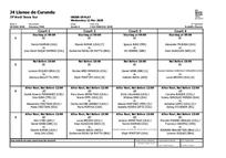 Orden de juego - Llaves de Qualy - 12 -Marzo-2020