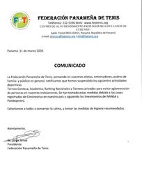 Comunicado - Coronavirus (COVID-19)