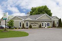 Clinique Vétérinaire de Victoriaville, sise a 545 Gamache, après l'agrandissement de 2006