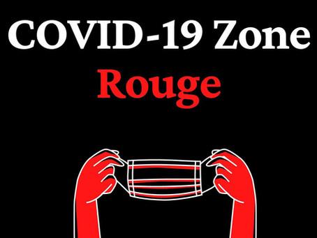 Zone rouge le 16 octobre 2020: ce que vous devez savoir pour votre prochaine visite à la Clinique
