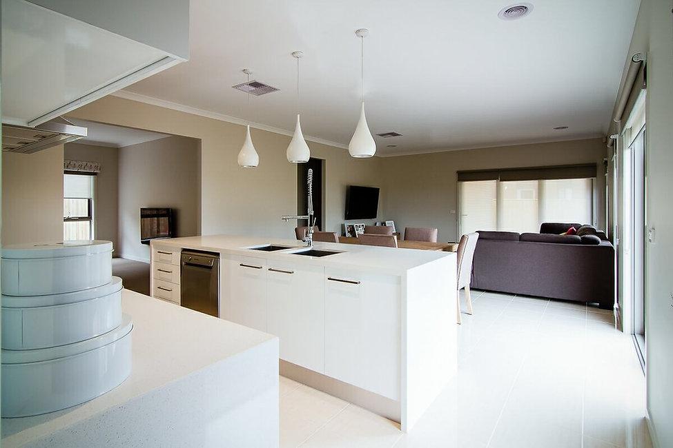 Kitchen Interior Plumpton Modern Home New build