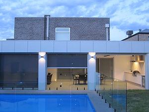 Exterior Build Pool Alfresco Modern Extension