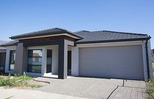 New Home Bulid Single Storey Modern Home