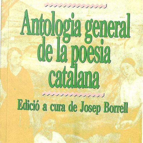 ANTOLOGÍA GENERAL DE LA POESÍA CATALANA (JOSEP BORRELL) BARCANOVA