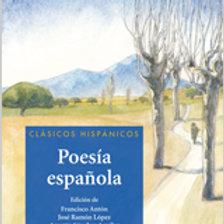 Poesía española (F. Antón, J. R. López, A. Sánchez)