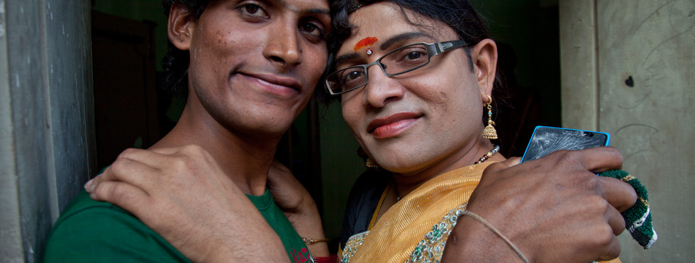 Image for transgenders' rights campaign in Andra Pradesh, India
