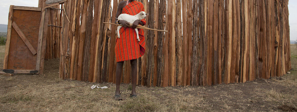 Illustrated article on Masai culture for TRVL magazine