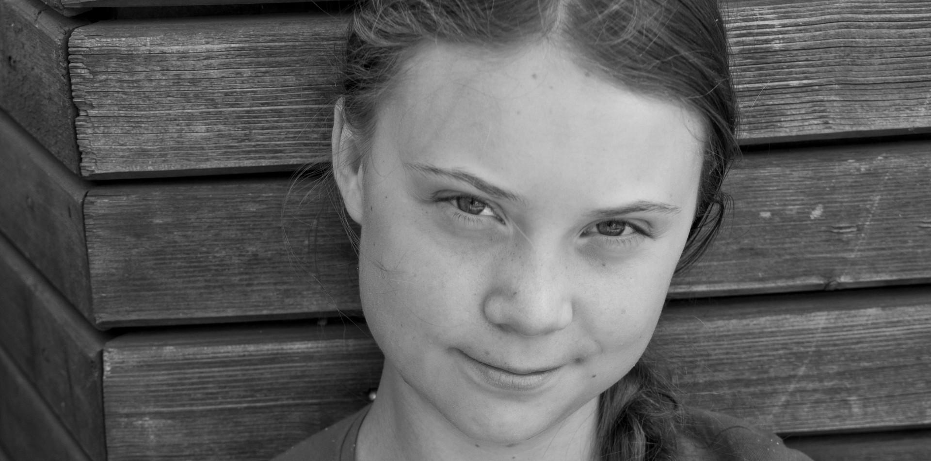 Swedish environmental activist Gretha Thunberg in Stockholm