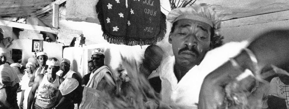 Santeria African Cuban priest in Havana