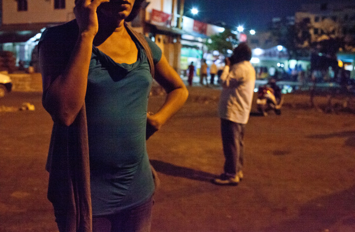 Campaign for transgender sex workers' safety in Chennai, India