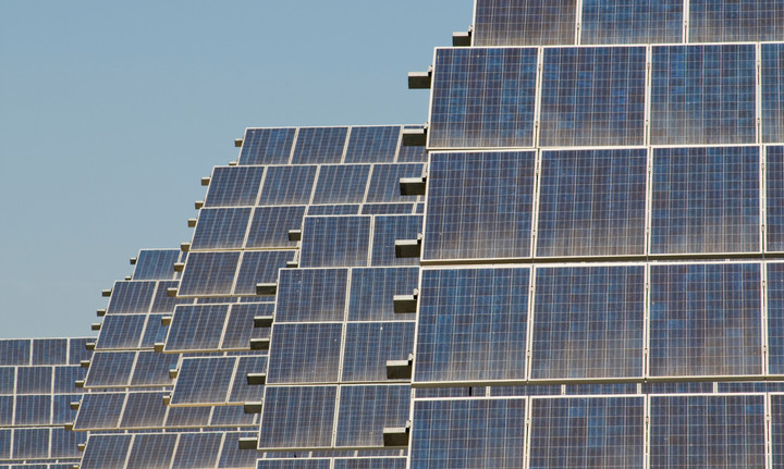 Solar panels in southern Spain
