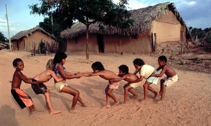 Tug of war in NE Brazil