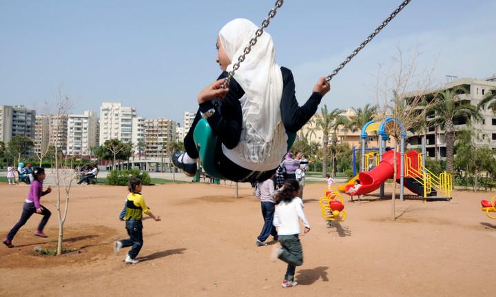 Refugee children from Syria in Lebanon