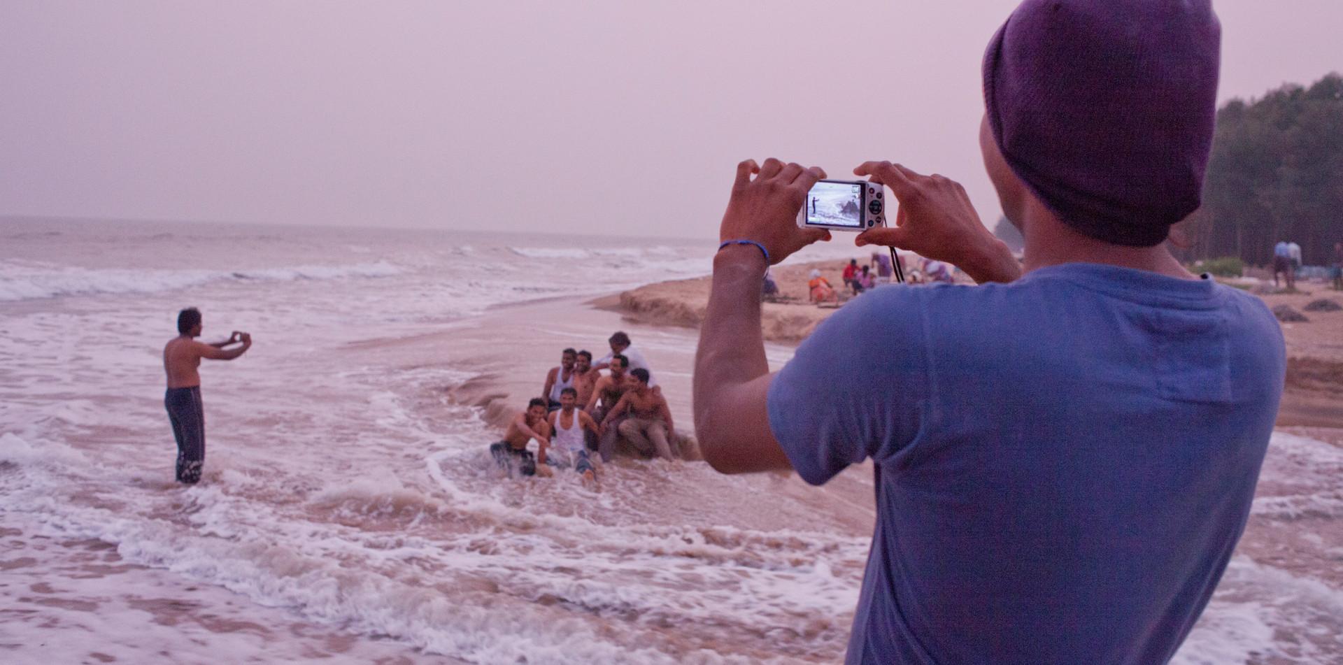 Transgender photovoice shoot in India