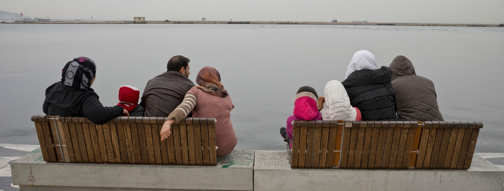 Refugee family from Syria in Turkey