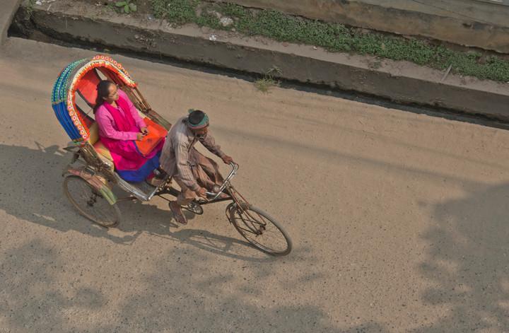 Taxi rickshaw in Bangladesh