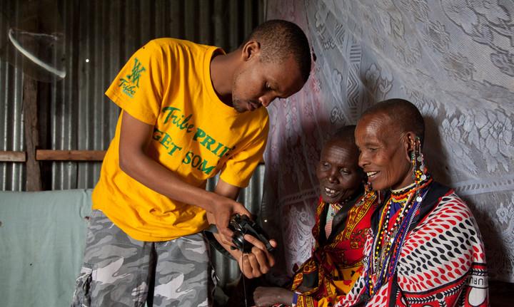 Masai shootback project, Kenya