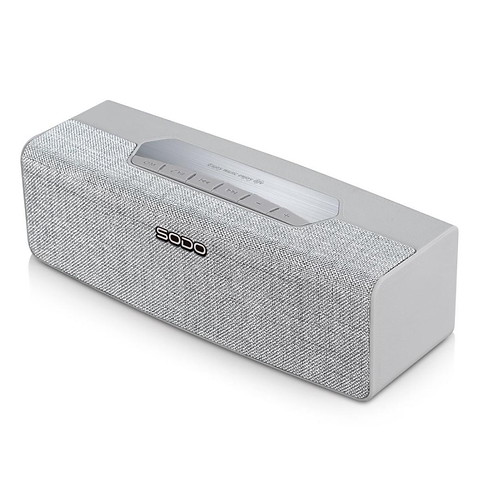SODO L2 Truly Wireless Fabric Bluetooth Speakers