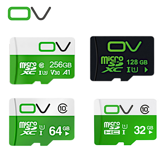 OV Class 10 Micro SD Memory Card