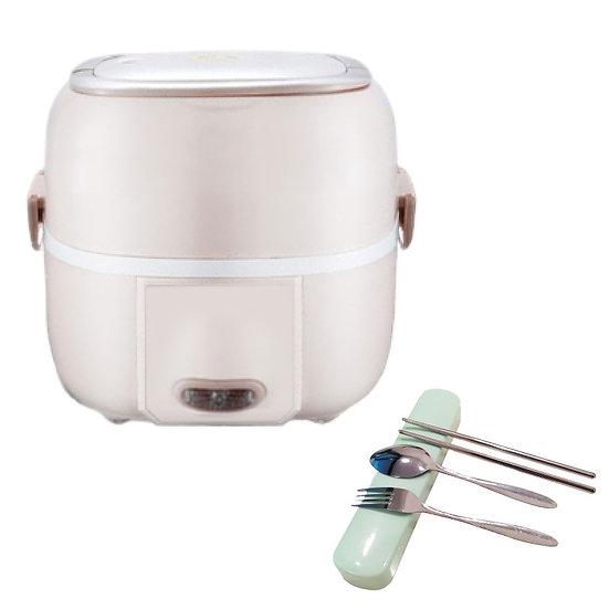 Portable Electric Cooker Lunch Box Hot Home Cooked Office Meal