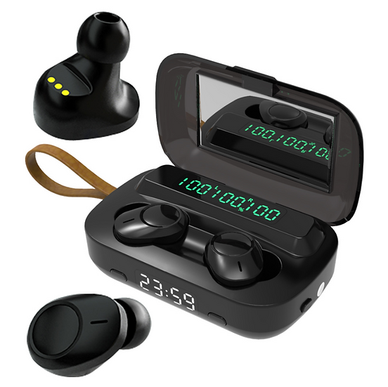 Laito Power Bass Bluetooth Earbuds with Touch Controls