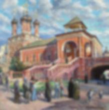 320. Высокопетровский монастырь 60х60, х