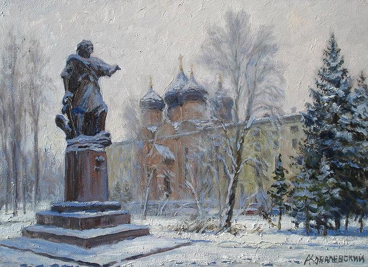 381. Памятник Петру I в усадьбе Измайлов
