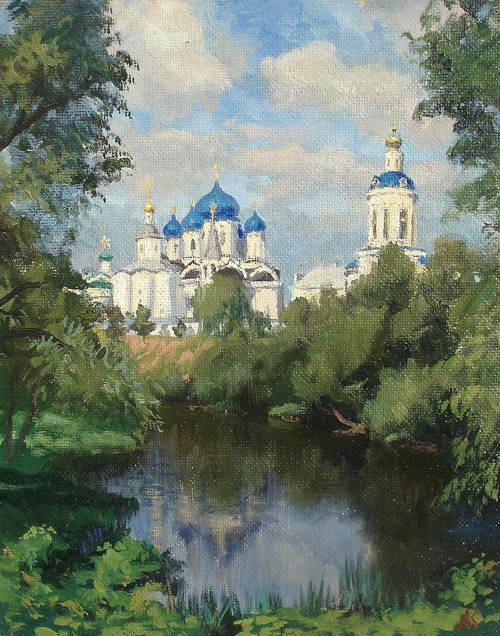 402. Вид на Свято-Боголюбский монастырь 37х30, орг., м., 2021.jpg