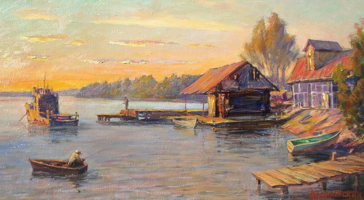 Озеро Селигер. Закат