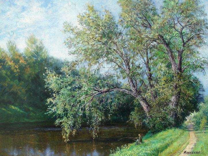 372. Серебряно-Виноградный пруд. Август