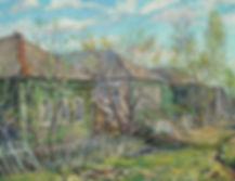 306. Заборы в селе Заборье 35х45, х.,м.,