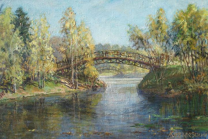 380. Бабаевский пруд 40х60, х.,м., 2020.