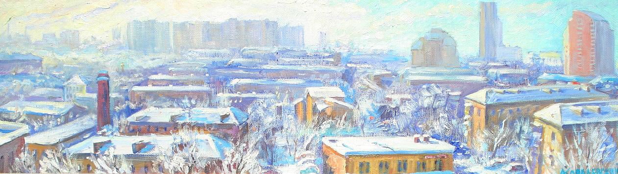 Морозный день в Северном Измайлово