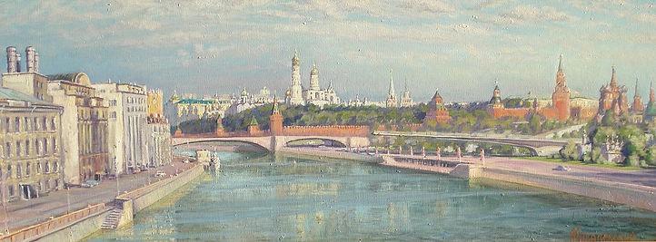 361. Вид на Кремль 50х130, х.,м., 2020.j