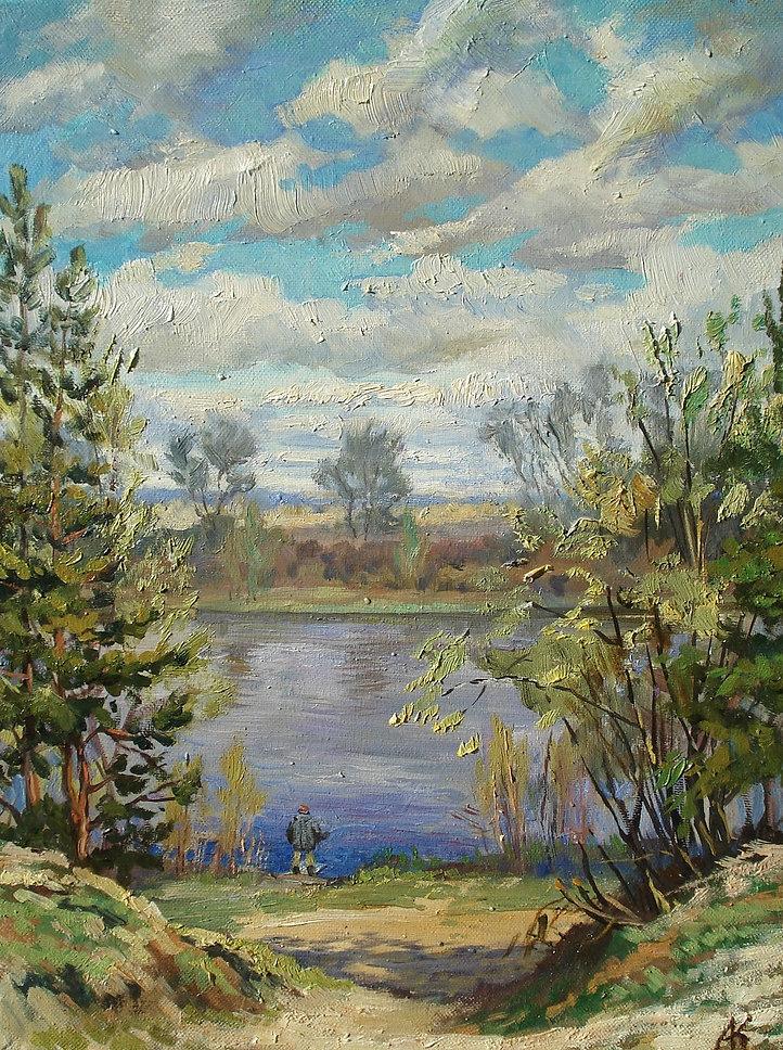 307. Река Солотча 45х35, х.,м., 2019.jpg