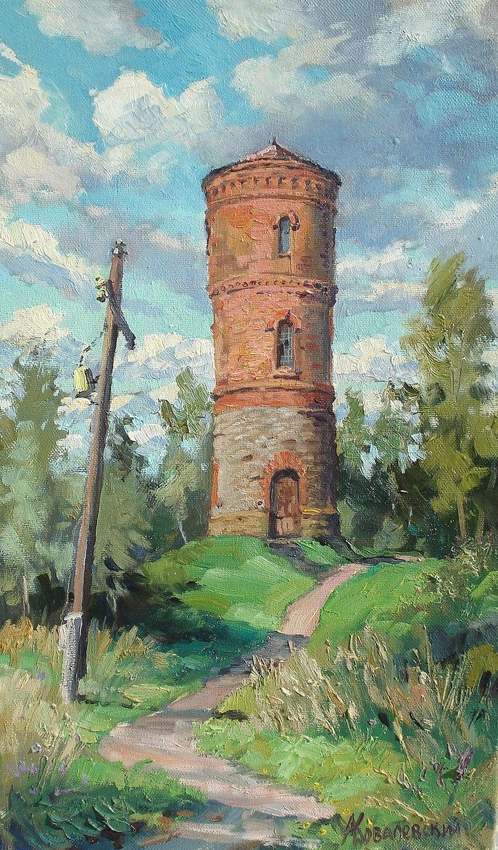 330. Водонапорная башня в Фирово 50х30,