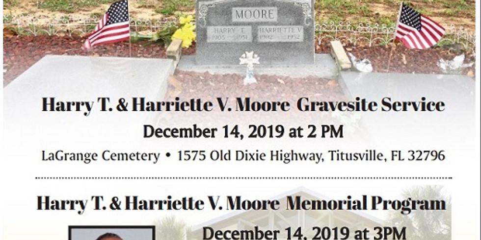 ANNUAL MOORE GRAVESITE & MEMORIAL SERVICE