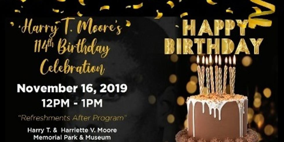 114TH MOORE BIRTHDAY CELEBRATION