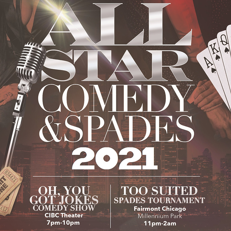 Annual All-Star Comedy & Spades