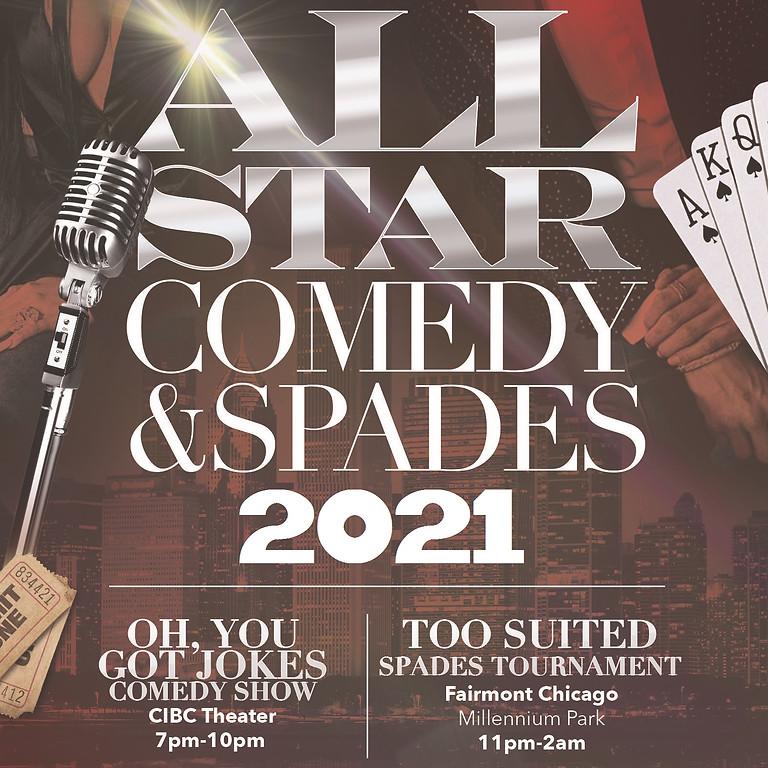 Annual All-Star Comedy & Spades