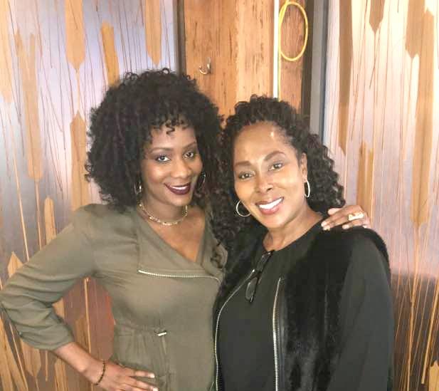With Cameka Smith