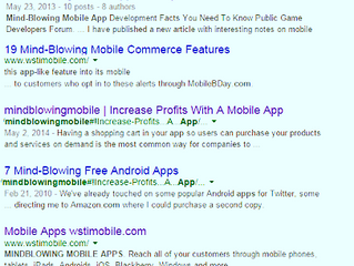Your App Can Be Found In Google Searches