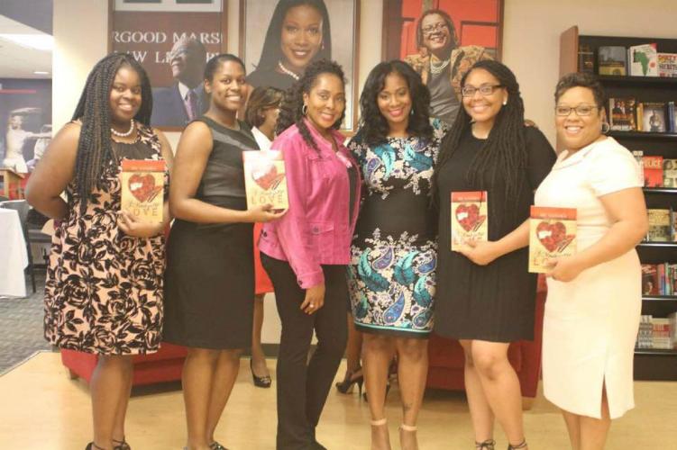 At Book Signing at Howard University